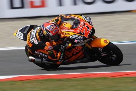 Fabio Di Giannantonio aprovecha la discreción de los favoritos para ser el más rápido de Moto2 en Brno