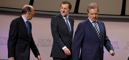 El debate entre Rubalcaba y Rajoy baja en audiencia