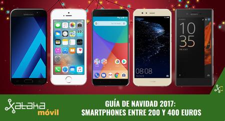 Guía de compras de Navidad: los mejores smartphones entre 200 y 400 euros
