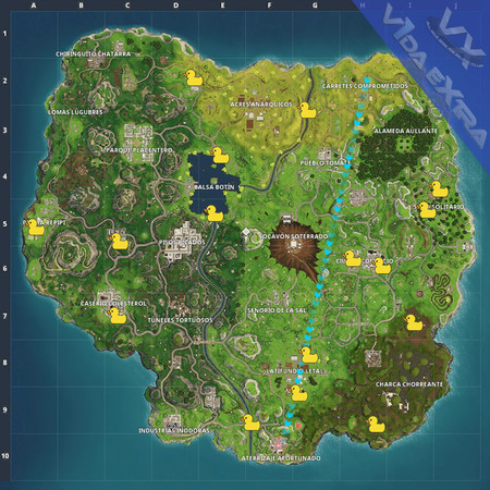 Mapa Patos Fortnite