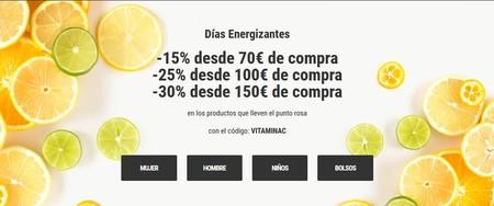 Días Energizantes en Sarenza: hasta 30% de descuento gracias a un cupón válido hasta el 30 de mayo