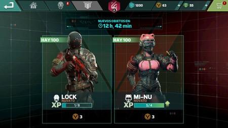 Nuevos Objetos Modern Combat Versus