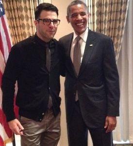 Un cortado para el señor Obama... y los famosos ¿qué van a tomar?