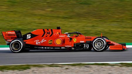 Vettel Barcelona F1 2019