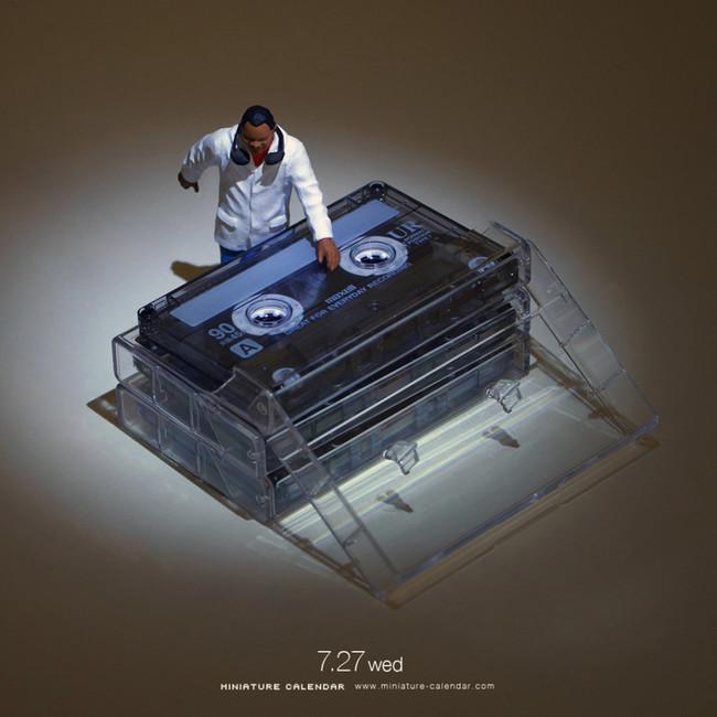 Miniature Calendar Tatsuya Tanaka 20