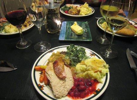 Cómo lograr una comida moderada en Navidad