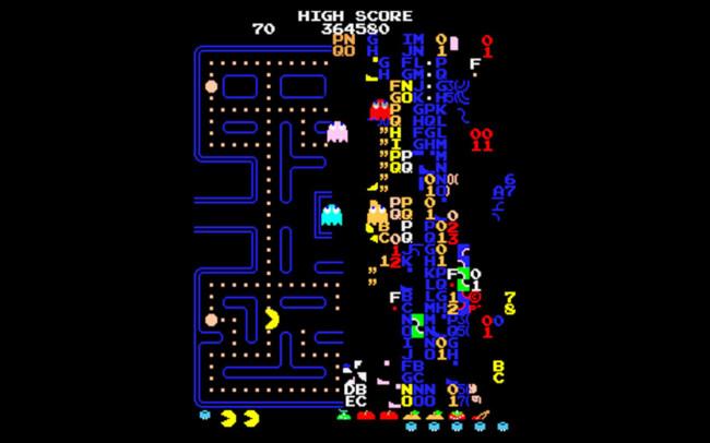 Pac Man Level 256 0