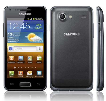 Samsung Galaxy S Advance, en medio de los dos Galaxy S