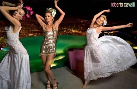 La campaña de Roberto Cavalli para Primavera-Verano 2008
