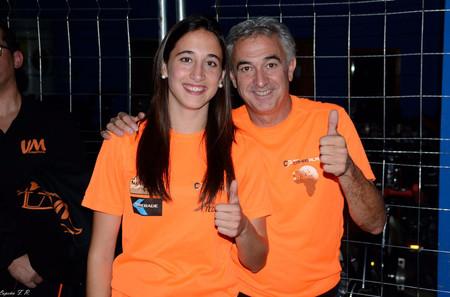 Manuel Plaza y su hija mónica, responsables de Tecnoraid