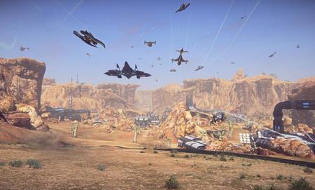 Beta privada de PlanetSide 2 para PS4 ya tiene fecha de salida