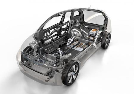 BMW i3 - estructura