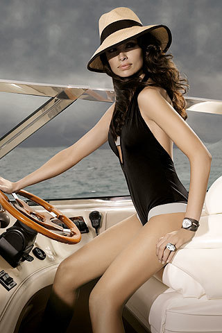 Almudena Fernández imagen de la firma H.Stern