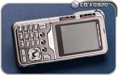 LG KG920, móvil con cámara de 5 megapíxeles