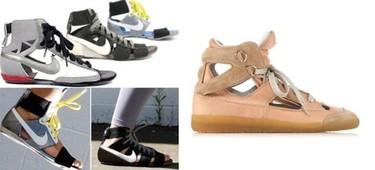 ¿Martin Margiela copia a Nike?