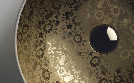 19070 Es Lavabo Sicilia Natural En Acabado Tevety Gold De La Coleccion Gold Silver De Bathco Sw2048 Sh1272 Ct1