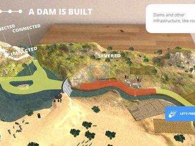 WWF Free Rivers, un ejemplo perfecto para ver las posibilidades de ARKit: App de la semana