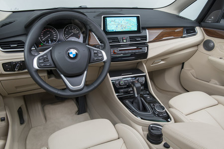 BMW Serie 2 Active Tourer - vista interior