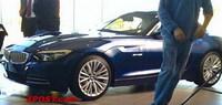 Nuevo BMW Z4, foto espía de su frontal