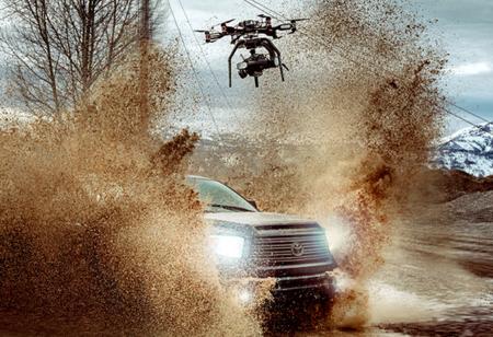 Brain Farm graba a máxima calidad desde las alturas, gracias a un drone y una Phantom Flex4