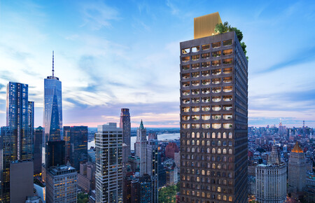 Aston Martin y Sir David Adjaye se unen para crear cinco casas de lujo en la lujosa torre de la ciudad de Nueva York, 130 William