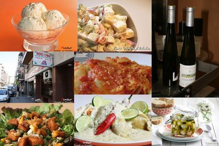 Menú semanal del 5 al 11 de julio de 2010
