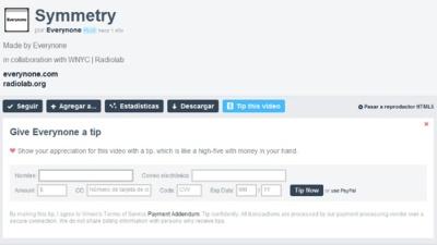 Vimeo presenta herramientas para monetizar los vídeos: donaciones y, para el año que viene, vídeo bajo demanda