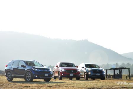 Comparativa: Honda CR-V vs. KIA Sportage vs. Mazda CX-5 (II)
