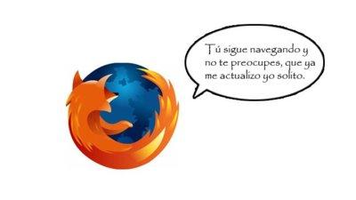 Firefox tendrá actualizaciones silenciosas (casi) como las de Chrome