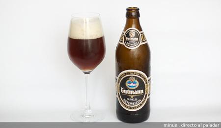 cata de cerveza gutmann dunkel - copa
