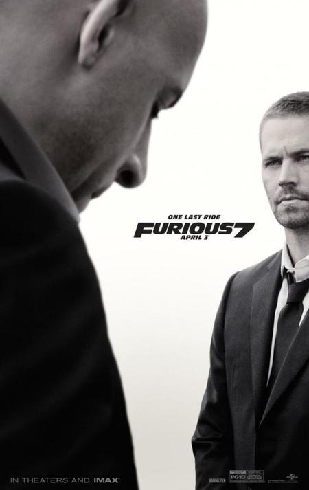 El nuevo póster de Fast and Furious 7