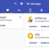 ML Manager es la aplicación más sencilla para extraer y compartir APK