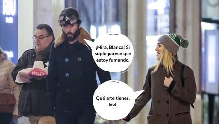 Javier Rey Blanca Suarez