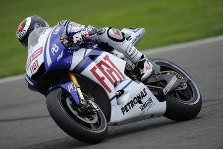 MotoGP Holanda 2010: Jorge Lorenzo comienza mandando en la sesión libre