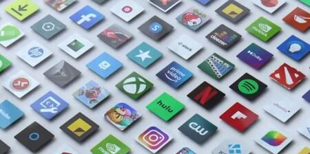 Iconos de aplicaciones presentes en la nueva Microsoft Store