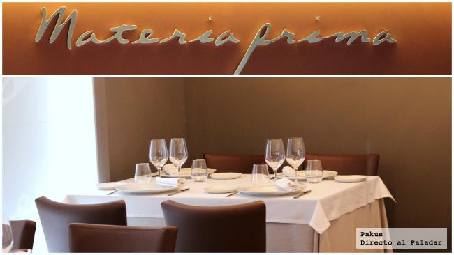 materia prima restaurante