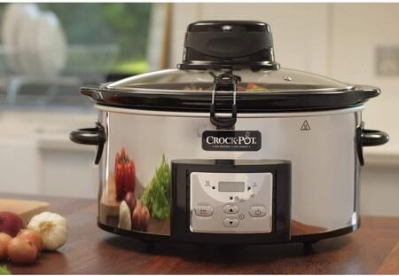 Chollo en la olla de cocción lenta Crock-Pot AutoStir CSC012X, con removedor automático y 5,7 litros de capacidad: cuesta 75,92 euros en Amazon