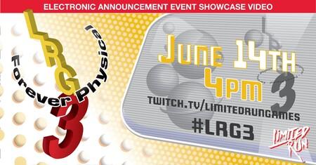 Limited Run Games confirma la fecha y hora en la que realizará su conferencia del E3 2021 con más de 25 anuncios