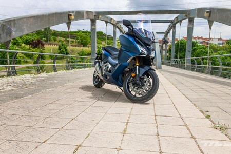 Honda Forza 750 2021 Prueba 011