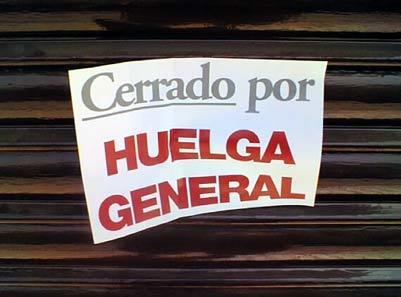 ¿Habrá huelga general?