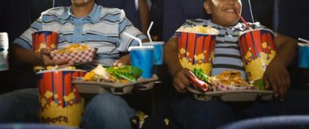 Comida en los cines