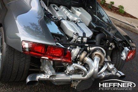 Heffner Audi R8 V10 Twin Turbo, preparación de 725 CV
