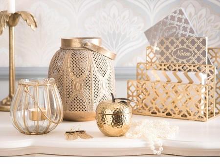 Portacartas De Metal Dorado Elegance 500 16 24 168452 6