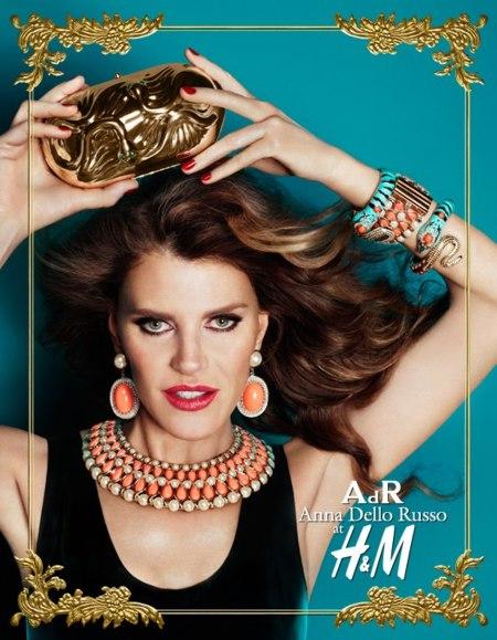 ¿Photoshop en la nueva campaña Anna dello Russo x H&M? ¿Qué es eso?
