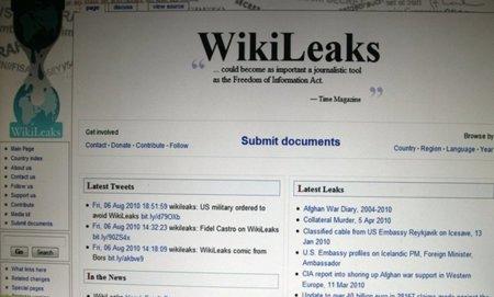 Expectación por conocer el documento de la CIA que WikiLeaks está a punto de desvelar