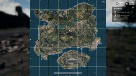PUBG mapa