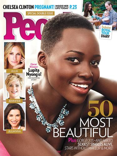 Pues fíjate tú que Lupita Nyong'o ha sido elegida como la más guapa entre 50 bellezones