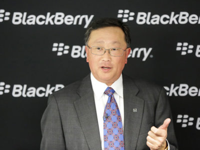 John Chen, CEO de Blackberry, se pronuncia: Blackberry no puede competir en número de apps