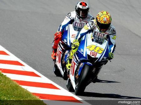 Valentino Rossi y el presuntuoso de Lorenzo