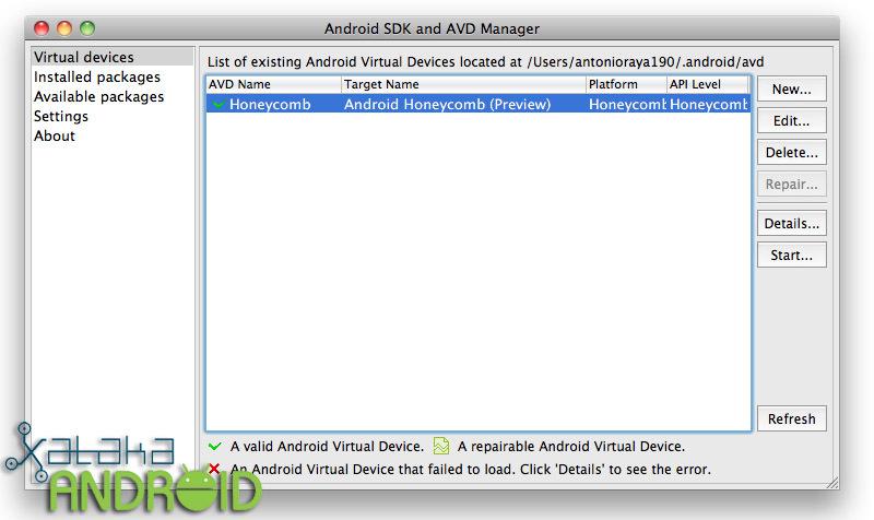 Emular Android en un ordenador